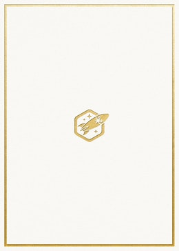 Default Gold Logo gift card design